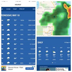 The weather isn't being very friendly these next couple of days..... Rainy season is coming and we are getting a dose of it early Keep an eye out for any leak spots on the ceiling. Give us a call for all of your roofing needs 561-603-9914 (klrroofing) Tags: county west beach florida south palm company roofing roofer klr