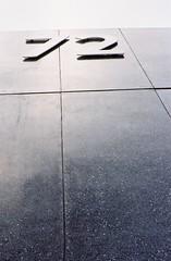 72 (35mm) (jcbkk1956) Tags: pov texture architecture wall 72 number building abstract film nikon fe2 manual analog bangkok thailand thonglo worldtrekker kodacolor200 kodak db