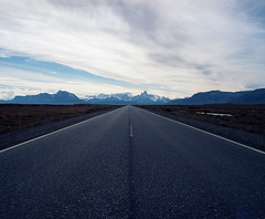 The Open Road (adzscott) Tags: chile patagonia mamiya landscape rz67
