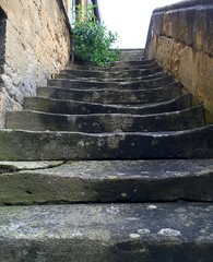 Worn Steps (tmvissers) Tags: uk england stone hotel steps cotswolds gloucestershire worn chipping campden