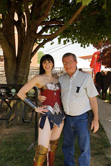 2016 Superman Celebration (mikes-photomemories) Tags: woman green june festival comics wonder outdoors dc illinois zoom cosplay flash spiderman mario harley event batman quinn joker metropolis supergirl lantern annual superheroes marvel hawkgirl cosplayers hawkman deadpool 2016supermancelebration