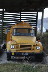 IP 2166 (ambodavenz) Tags: new station truck bedford high farm aircraft country zealand gorge airstrip tanker mesopotamia j5 refueller rangitata