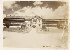 The Hospital Wagga (Daddys 'lil Girl) Tags: postcard australia nsw historical 1949 wagga albury riverina
