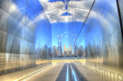 911 Memorial...  Liberty State Park, Jersey City, NJ... (Louie Forte) Tags: newjersey hdr libertystatepark 911memorial photomatixpro