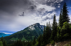 Above  the Coquihalla (Sworldguy) Tags: trees sky mountain snow canada mountains tourism clouds landscape hope nikon outdoor hiking britishcolumbia scenic alpine fir coquihalla dslr recreational fraservalley d7000 zoaridge