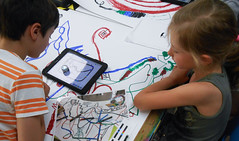 Klax Kinderbildungswerkstatt (Code Week Award) Tags: code award electronics week interactive hacken cwa coding roboter programmieren