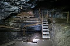 Gonzen Mine - Military Path (Kecko) Tags: underground geotagged army schweiz switzerland europe mine suisse swiss military kecko ostschweiz tunnel sg svizzera armee militr stollen 2016 militaer sargans bergwerk vild gonzen trbbach swissphoto bremsberg wartau geo:lat=47073470 geo:lon=9445910 gonzenbergwerk