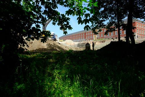 Baustelle Neues Bauhaus-Museum Weimar