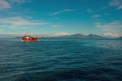 Hebridean pot fishing.... (Dafydd Penguin) Tags: hebridean sea fishing vessel boat ship cruise scotland west coast small isles rum muck eigg water nikon d600 nikkor 35mm af f2d trawler