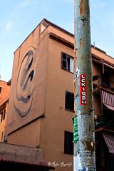 "Roma. Torpignattara. Urban art by Escif, ""L'orecchio destro"". Sticker art by Lek1984 (R come Rit@) Tags: italia italy roma rome ritarestifo photography streetphotography streetart arte art arteurbana streetartphotography urbanart urban wall walls wallart graffiti graff graffitiart muro muri streetartroma streetartrome romestreetart romastreetart graffitiroma graffitirome romegraffiti romeurbanart urbanartroma streetartitaly italystreetart contemporaryart sticker stickerart stickerbomb stickervandal slapart label labels signscommunication roadsign segnalistradali signposts trafficsignals escif lorecchiodestro lek1984 lek street strada torpignattara"
