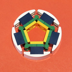 Lego WIP - Circle technique (Bricksky) Tags: circle lego wip moc bricksky