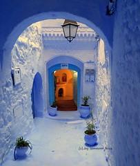 Chefchaouen-Detalle.Marruecos (lameato feliz) Tags: azul arquitectura chefchaouen marruecos