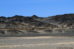 I_B_IMG_7455 (florian_grupp) Tags: china railroad train landscape asia mine desert muslim railway steam xinjiang mikado locomotive ore js steamlocomotive 282 opencastmine yamansu