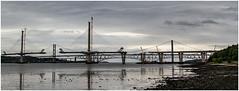 Forth Bridges No44 - 28-06-16 (Jistfoties) Tags: pictorialrecord forthbridges newforthcrossing forth southqueensferry queensferrycrossing bridge