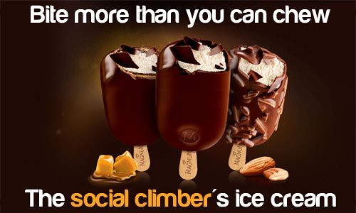 Social Climber Ice cream - seriously