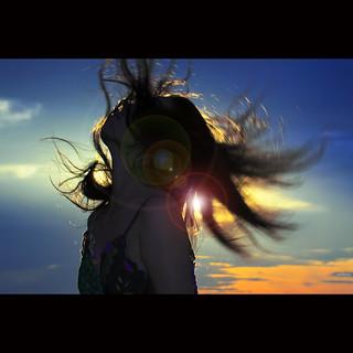 Feeling the sunrise