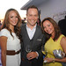 Jennifer Jingco of Kerstin Florian International, Chris Avery, national sales director for Jordan Winery,  and Julie Milroy, sales representative for Southern Wines & Spirits at Jordan Winery's 40th anniversary party at Soho Beach House