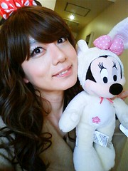minnie and me *2 (Sweetflower Yui) Tags: japan asian mouse japanese tv dress cd disney tgirl tranny transvestite minnie crossdresser ladyboy yui