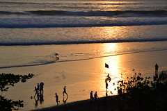 Bali sunset (Simon_sees) Tags: evening sports locals soccer sunset bali indonesia travel holiday vacation anantara seminyak