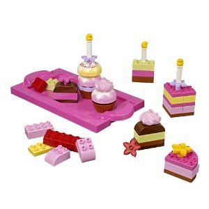 乐高LEGO得宝DUPLO系列创意蛋糕积木玩具6785,$22.77适合小女孩玩