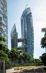Reflections at Keppel Bay, Singapore (varlamov) Tags: architecture reflections singapore libeskind keppelbay