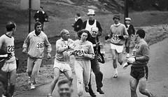 Una de las primeras mujeres en correr una mara...