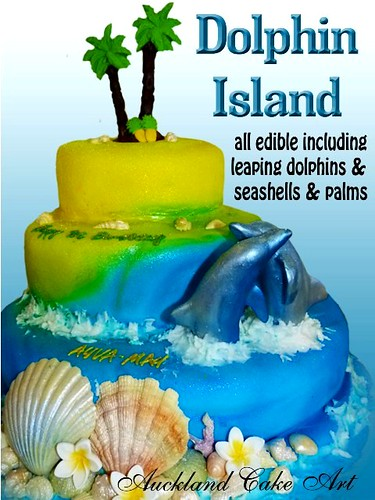 Phenomenal Dolphin Island Birthday Cake A Photo On Flickriver Funny Birthday Cards Online Alyptdamsfinfo