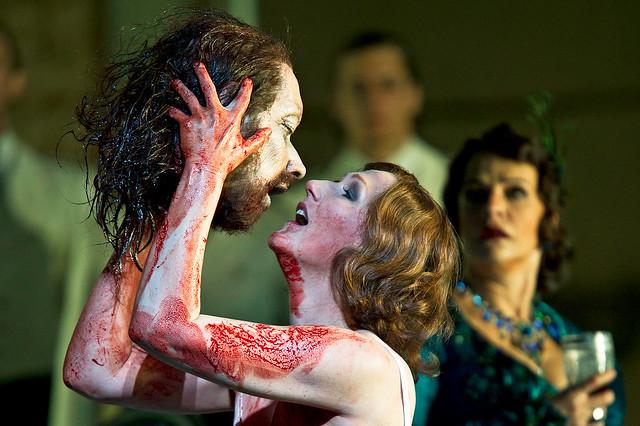 Angela Denoke as Salome in Salome © Clive Barda/ROH 2009