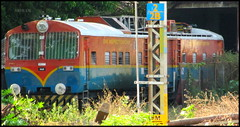 "The ""Big Boy"" Of Chennai!! (Sriram_Express) Tags: tower wagon machine express chennai ohe plasser sapthagiri wds4b vilivakkam expxress"