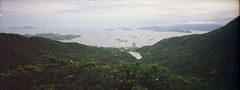 The other view from The Peak 山頂 (Joybot) Tags: ocean china sea panorama hk green film 35mm island hongkong boat asia view opposite kodak peak panoramic hills inlet pointandshoot 1998 asie 中国 thepeak lush shipping 香港 powerstation hongkongisland lamma victoriapeak 中國 otherside 太平山 山頂 景 亞洲 香港島 南丫島 hkisland