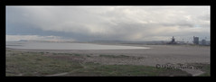 0025 Evening Panorama (peter harris41) Tags: nature rivertees southgare redcarcleveland