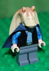 Jar Jar Binks EP 2 (M & M Customs STAR WARS) Tags: lego clothes jar senate binks