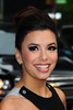 Actress Eva Longoria Celebrities arrive at The Ed Sullivan Theater for 'The Late Show with David Letterman' New York City, USA