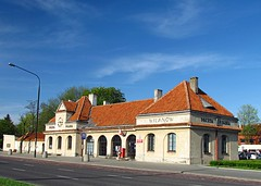 IMG_2327 Old train station in Wilanw (Dorota.S - very busy) Tags: station train poland warsaw wilanw dorotas