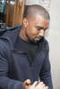 Kanye West at the BBC Radio 1 studios London, England