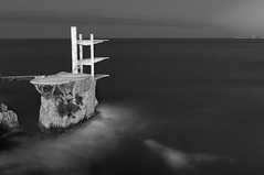 who dares...? (Thomas Leth-Olsen) Tags: longexposure bw nice locations divingtower