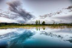 Nature Lines (Nejdet Duzen) Tags: trip travel cloud lake nature turkey trkiye izmir bulut gl turkei seyahat doa