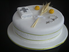 First Comunion Cake/Ponqu de Primera Comunion (Mocka Arte En Azcar - www.mocka.co) Tags: cakes weddings babyshower bautizo ceremonia babtism primeracomunion firstcomunion matrimonios ponques