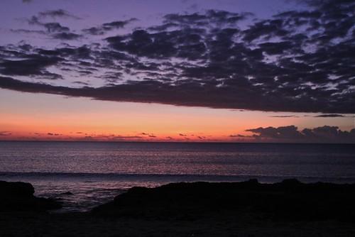 After sunset at Batu Termanu, Rote, Indonesia