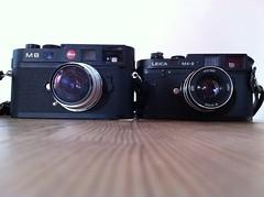 The Leicas (NicolaiGiil) Tags: leica gear m42 m8 leicam42 leicam8