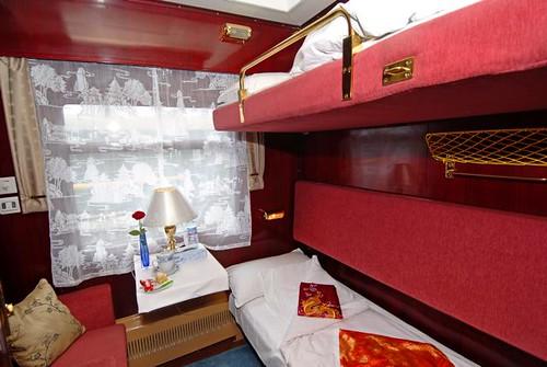 Shangri La Express cabin
