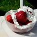 Sommar, jordgubbar och vispgrädde