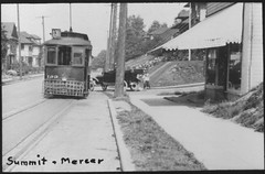 """Summit & Mercer"", Seattle, ca 1915 (Rob Ketcherside) Tags: seattle archive tram 1910s streetcar capitolhill streetrailway trtam"