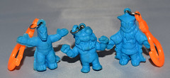 Kaiju keychain figures (LittleWeirdos) Tags: monster japan toys godzilla monsters creatures creature 1980s kaiju ultraman japanesetoys vendingmachinetoys rubbermonsters plasticmonsters japanesemonsters monsterfigures