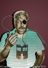 Self portrait 152 (piman300) Tags: selfportrait 365 cyborg bodyparts artificialheart 366 resistanceisfutile gradientfill