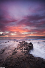 The Dawn ..  (Taha Elraaid) Tags: seascape beach sunrise canon dawn australia down nsw gong wollongong aust waterscape the illawarra    youngphotographer   canon5dmr3