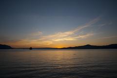 Villeneuve (riomicael) Tags: lake nature water rio soleil nikon view coucher lac leman paysage nuit arbre vue villeneuve micael d700 riomicael