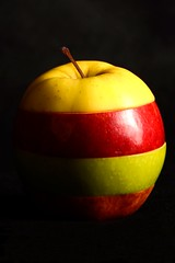 (orlandocobian) Tags: red verde green apple yellow méxico studio mexico rojo nikon manzana estudio amarillo bajacalifornia ensenada uabc 2012 manzanas injertos orlandocobian