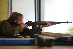Samu with M14 (Timo Vehviläinen) Tags: tallinn estonia gun rifle eesti m14 bssc viro männiku balticseashootingcup2012