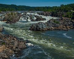 Great Falls (pauled) Tags: water river landscape virginia waterfall nationalpark kayak greatfalls falls potomac potomacriver